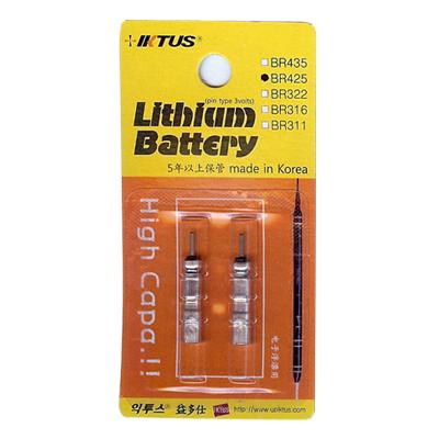 IKTUS リチウム電池 BR425  3volts